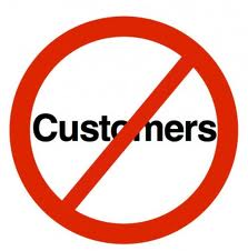 no customer